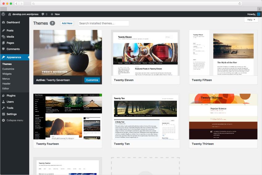 WordPressはカスタマイズ自由、自社更新可能